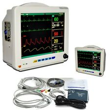 FDA 12.1 Inch TFT ICU CCU 6 parameters Vital Signs Patient Monitor NIBP TEMP CE