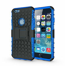 "For iPhone 6 6s 4.7"" Blue Heavy Duty Strong Tradesman Durable Case Cover Stand"