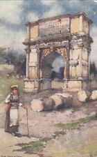 TUCK :WIDE WIDE WORLD-ROME-The Arch of Titus - OILETTE 7026