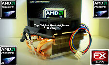 AMD Heatsink Cooling Fan for Phenom I & II X4 & X 6 Socket 940-AM2-AM3-AM2+ New