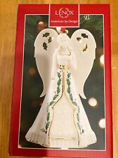 Collectible Lenox Porcelain Angel Bell with 24kt Gold Accents Retails - $60.00