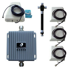 HOT 850/1900MHz Mobile Signal Booster GSM Repeater 3G Amplifier + 4 Antennas Kit