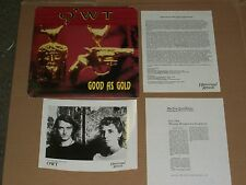 OWT good as gold PROMO LP david linton zeena parkins 8x10 glossy photo bio press