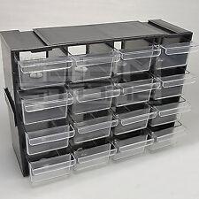 Cassettiera componibile per componenti elettronica 16 cassetti - ART. GE14