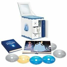 Cinderella Trilogy w/ Limited Edition Collectible Jewelry Box Packaging Blu-ray
