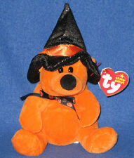 TY HAUNTS the HALLOWEEN BEAR BEANIE BABY - BORDERS EXCLUSIVE - MINT TAGS