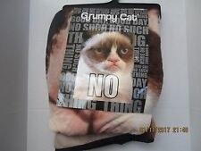 Grumpy Cat  Soft Comfortable Unique  Plush Throw Blanket 45 x 60 New With Tags