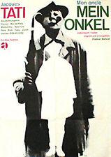 MON ONCLE German A1 movie poster (23x33.5) JACQUES TATI R66 BLASE Art
