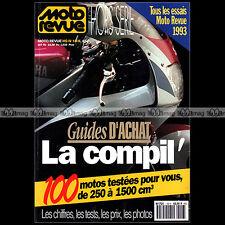 MOTO REVUE HS 18 ★ GUIDE D'ACHAT 100 ESSAIS 1993 ★ YAMAHA 1200 VMAX FZR 600 1000