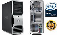Dell Precision T7500 Workstation 3.46GHz X5677  48GB RAM 1TB Window 7 64