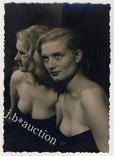 SLINKY WOMAN AT HOME / FRAU & SPIEGEL EROTIKFOTO * Vintage 50s Amateur Photo #10