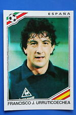 Panini WC MEXICO 86 STICKER N. 273 ESPANA URRUTICOECHEA WITH BACK VERY GOOD/MINT