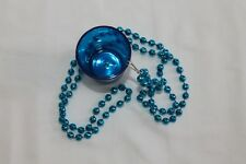 SHOT GLASS W/NECKLACE BLUE WITH BLINKING LED LIGHT HOT ITEM! NEW! PARTY