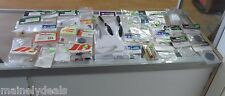 HUGE LOT OF 35 RANDOM HELICOPTER AND AIRPLANE PARTS ARRMA, JR NEW IN PACKAGE