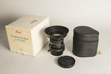 Leica PC Super Angulon R 28mm f2.8 - mint! 1 owner
