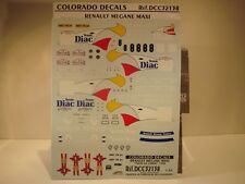 DECALS 1/32  RENAULT MEGANE MAXI - #8 TOUR DE CORSE 1996 - COLORADO  32138
