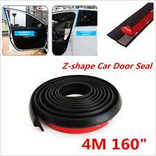 """4M 160"""" Z-shape Car Window Door Rubber Seal Weather Strip Mouldings Strip Hollow"""