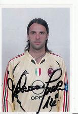Valerio Fiori AC Milano Top FOTO ORIG. Sign. +a45446