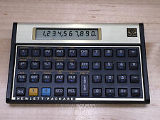 VTG HP-12C Financial Calculator W/Case & Batteries Made in Singapore