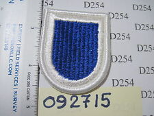 Army 325th INFANTRY REGIMENT Airborne beret FLASH patch 82nd