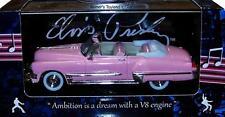 Modellauto pink Cadillac Coupe de Ville (1949) - Elvis Presley - 1:43 - NEU OVP