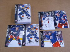 2015/16 Upper Deck SERIES 2 COLOUMBUS BLUE JACKETS 9 COMPLETE TEAM SETS 5 CARDS