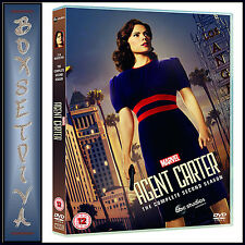 AGENT CARTER - COMPLETE SEASON 2 - MARVEL'S AGENT CARTER   *BRAND NEW DVD *