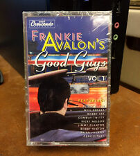 FRANKIE AVALON'S GOOD GUYS VOL 1 & 2 NEW SEALED 2-CASSETTE COMP GNP CRESCENDO