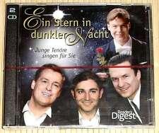 NEU, OVP - EIN STERN IN DUNKLER NACHT - Junge Tenöre singen für Sie - 2 CDs
