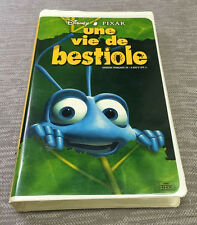 "FRENCH A Bug's Life VHS Walt Disney Pixar ""Une Vie De Bestiole"" Movie"