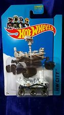 Hot Wheels Mars Rover Curiosity HW City White Die-Cast 1:64 Scale