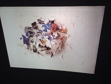 "Liliana Porter ""Collage Of 104th St."" Argentina Modern Art Glass 35mm Slide"