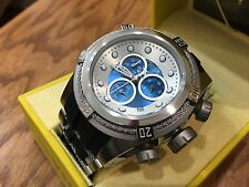 21809 Invicta Reserve Mens 52mm Bolt Zeus Swiss Quartz Chronograph Strap Watch