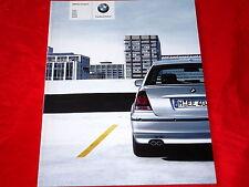 BMW 3er E46 Compact 316ti 318ti 325ti 318td 320td Prospekt von 2003