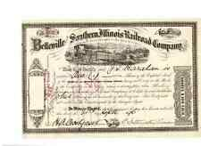 Belleville and Southern Illinois Railroad  1896