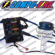 Compufire Dis-Ix Coil Pack Ignition System Conversion Kit With Blue Plug Wires