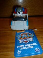 "Paw Patrol Racers ROBODOG 3"" Racer Vehicle Car Ryder's Puppy Dog"