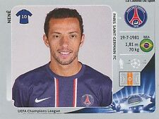 N°062 NENE # BRAZIL PSG PARIS SG CHAMPIONS LEAGUE 2013 STICKER PANINI