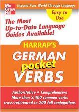 Harrap's Pocket German Verbs-ExLibrary