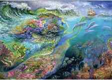 """Jigsaw Puzzles 1500 Pieces """"The soul of the ocean"""" / Josephine Wall / Anatolian"""