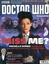 Doctor Who Magazine #480 Winter 2014 Michelle Gomez Siobhan Empty Child