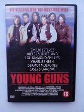 YOUNG GUNS DVD CHARLIE SHEEN EMILIO ESTEVEZ
