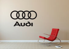 Audi Decal Interior Wall Sticker Decor