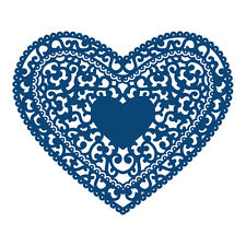 Tattered Lace CUORE FIORENTINO d228 Stephanie Weightman Gratis UK P & P