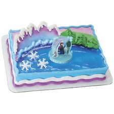 Disney Frozen Cupcake Cake Topper Decorating Supplies Kit Anna and Elsa, Olaf