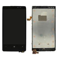 Nokia Lumia 920 N920 pantalla LCD Toque Digitalizador Ensamblaje Negro con Marco