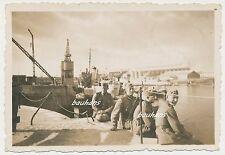 Foto Schiff-Hafen-Soldaten 2.WK (h86)