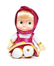 Doll Masha 29cm Soft Plush Sound Talking Toy Masha and the Bear/i Medved/ E ORSO