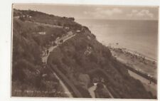 Zig Zag Path East Cliff Bournemouth 1932 RP Postcard 477a
