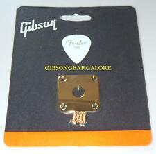 Gibson Les Paul Output Jack Plate Gold Cord Input Guitar Parts Custom HP Studio